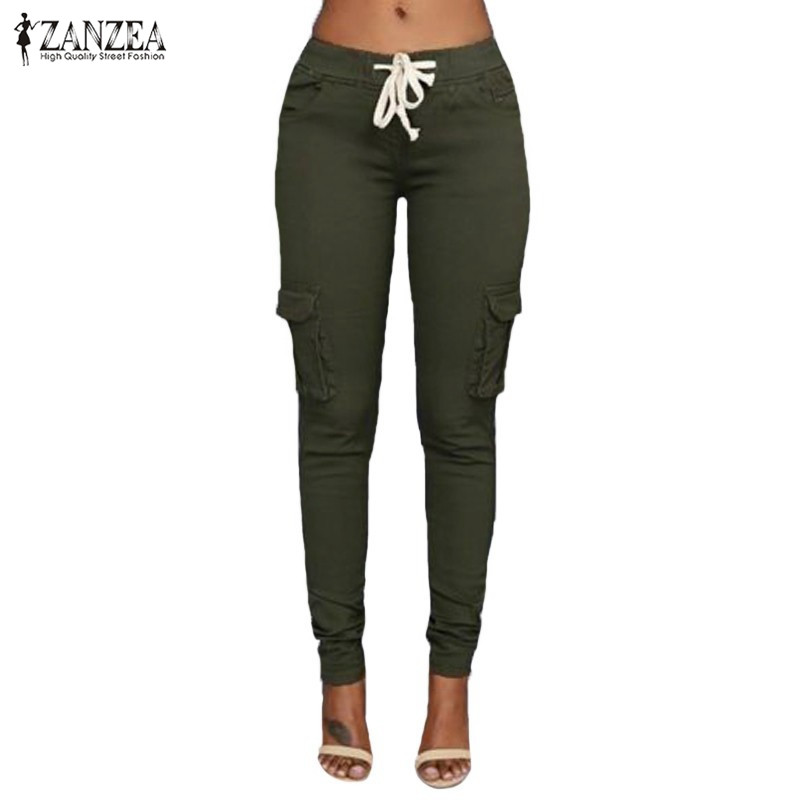 Popular Women Skinny Khaki Pants-Buy Cheap Women Skinny Khaki ...