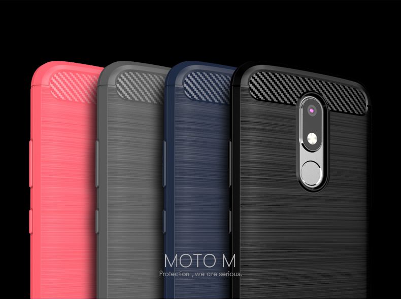 newest e9f85 5a639 US $6.64 5% OFF|For Motorola Moto M Case Cover Original Ipaky Soft TPU  Silicone Shockproof Phone Case for Moto M Back Cover Protective Shell-in  Fitted ...
