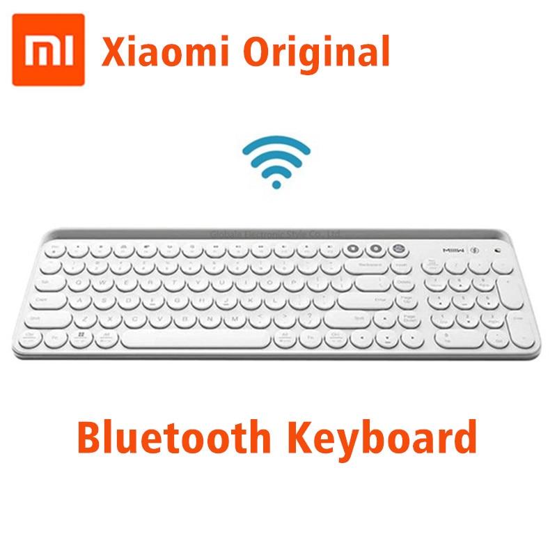 Original Xiaomi Miiiw Bluetooth Dual Mode Keyboard 104 Key 2.4GHz Multi System Compatible Wireless Portable Keyboard PC LaptopOriginal Xiaomi Miiiw Bluetooth Dual Mode Keyboard 104 Key 2.4GHz Multi System Compatible Wireless Portable Keyboard PC Laptop