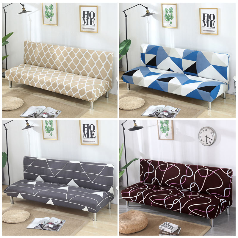 Fantastic Us 14 99 49 Off Armless Sofa Cover Stretch Diamond Printing Sofa Bed Cover Sofa Spandex Sofa Covers Without Armrests Elastic Couch Cover 1Pc In Sofa Download Free Architecture Designs Scobabritishbridgeorg