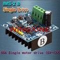 Бесплатная доставка, 2 шт./лот IMS-2B/50A/3 В-15 В Одноместный H Bridge Motor Driver Модуль ПИД для Умных RC Intelligent Автомобилей 200 кГц (МАКС) ШИМ