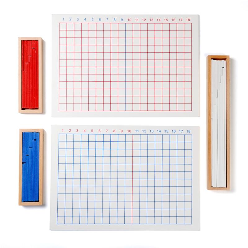 Igračka za bebe Montessori dodavanje oduzimanje daske za matematiku - Obrazovanje i osposobljavanje - Foto 2