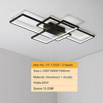 NEO GLeam New Black or White Aluminum Modern Led Chandelier For Living Room Bedroom Study Room AC85-265V Ceiling Chandelier 10