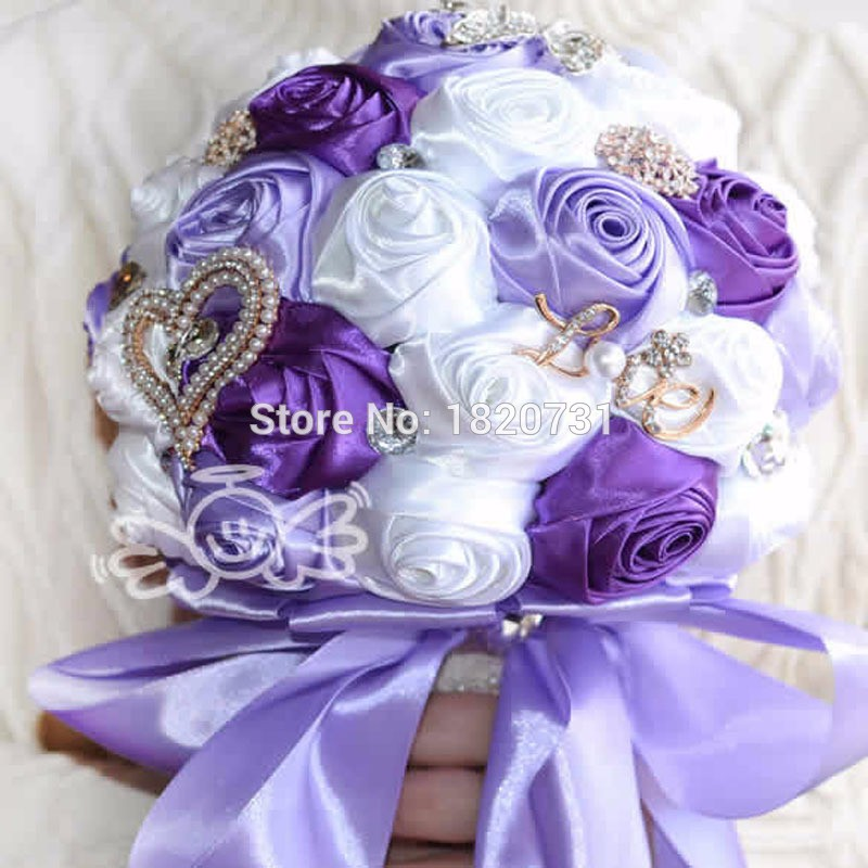2017-in-stock-Stunning-Wedding-flowers-White-Bridesmaid-Bridal-Bouquets-artificial-Rose-Wedding-Bouquet (5)