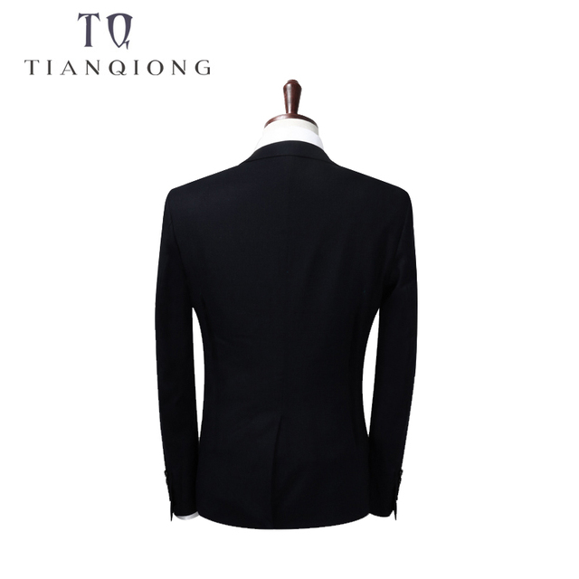 2018 Men Business Suit Slim fit Classic Male Blazers Two Buttons