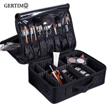 Women Beautician Waterproof Oxford Professional Makeup Bag Handbag Road Travel Organizer Cosmetic Suitcase Pouch;sac maquillage