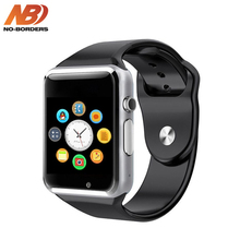 Без границ A1 Bluetooth Смарт часы наручные часы Спорт Шагомер с SIM Камера Smartwatch для Android HUAWEI не iWatch DZ09