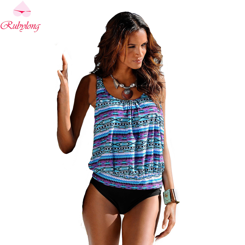 Swimwear 2017 Sexy Swimsuit Women Plus Size Tankini Sets Swim Vintage Beach Wear Bathing Suits Female Bandage Monokini Swim Suit