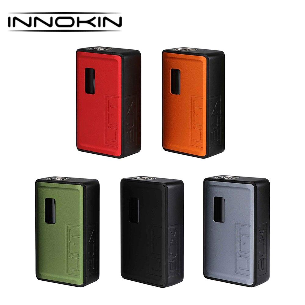 Original Innokin LiftBox Bastion boîte MOD avec 8 ml capacité ascenseur Siphon système auto alimentation côté-tir bouton e-cig Vape Mod