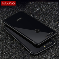 Luxury For Huawei Honor 8 Pro Case 2 In 1 Slim Metal Frame Acrylic Back Cover