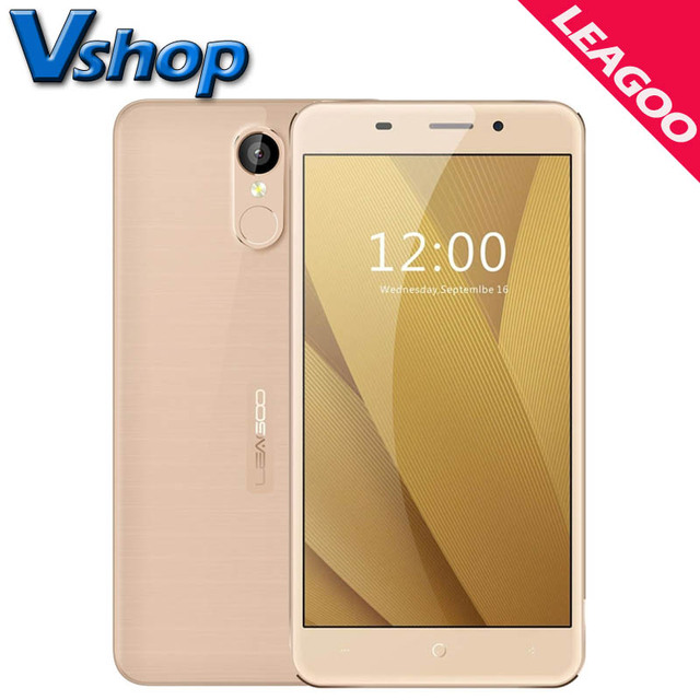 Original LEAGOO M5 Plus M5 Mobile Phones Android 6.0 Smartphone ROM 16GB RAM 2GB Quad Core 2.5D Arc 720P Dual SIM Cell Phone