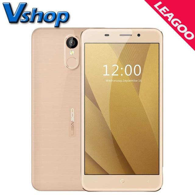 Original LEAGOO M5 Plus M5 Mobile Phones Android 6.0 Smartphone ROM 16GB RAM 2GB Quad Core 2.5D Arc 720P Dual SIM Cell Phone