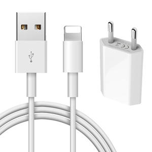 Usb-Charger-Cable iPad iPhone 6s Eu/Us-Adapter XR 8-Plus for 6/7/8-plus/.. 1m