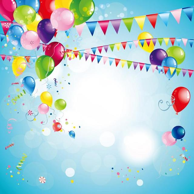 Birthday Photography Lighting: Light Sky Blue Easter Or Birthday Photography Backdrops