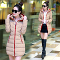 2017 new explosion of fashion leisure women coat Korean down jacket in the long section of tidal thickening