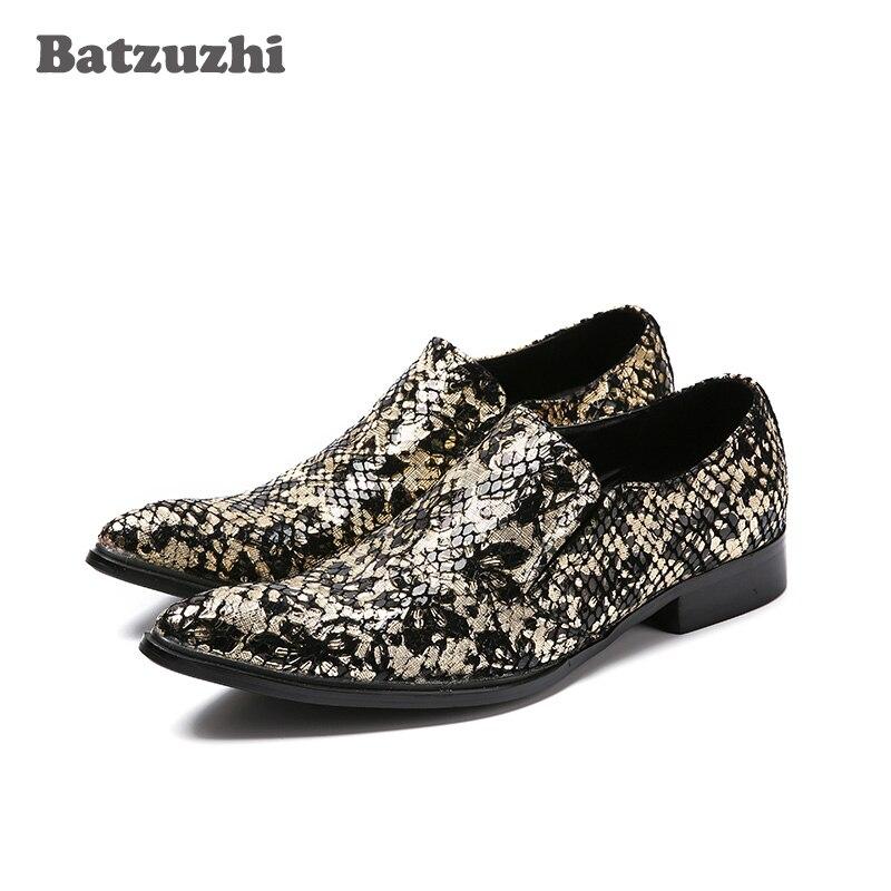 Puntiagudo Pie Batzuzhi Hombres Vestir Estilo Dedo Zapatos As De Picture  Para Del Italiano Lujo Negocios ... cebf51629c9