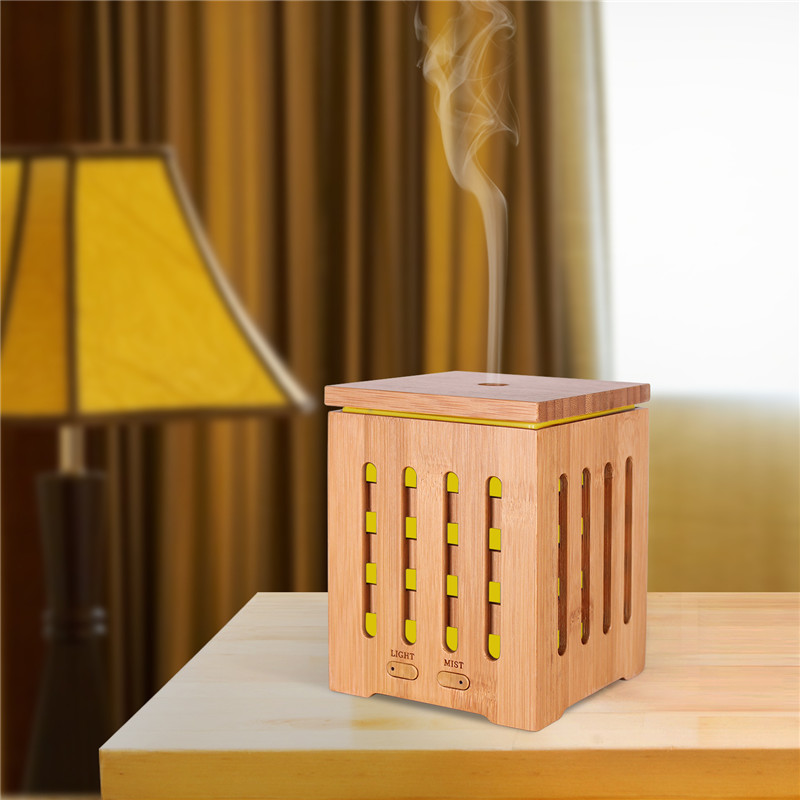 Real Bamboo Essential Oil Diffuser Ultrasonic Diffuser Ultrasonic Aromatherapy Diffusers