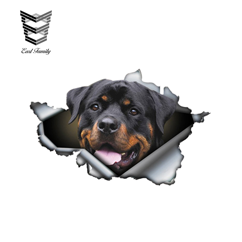 Guard Dog Decal Please Run Protection K9 Shepherd Car Truck Window Sticker Rotti