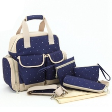 New Brand Diaper Bag Backpack Multifunctional Large Capacity Maternity Handbag Stroller Bag Baby Changing Nappy Bags for Mom