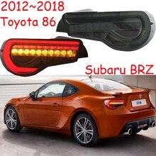 Parachoques trasero para coche, luz LED de freno, luces de señalización, para Toyota86 GT86, 2012, 2013, 2014, 2015, 2016, 2017, 2018