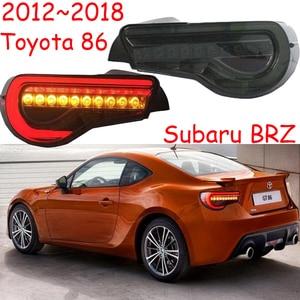 Image 1 - 자동차 범퍼 taillamp 86 for Toyota86 GT86 미등 후방 램프 2012 2013 2014 2015 2016 2017 2018 년 LED 브레이크 + 파크 + 신호등