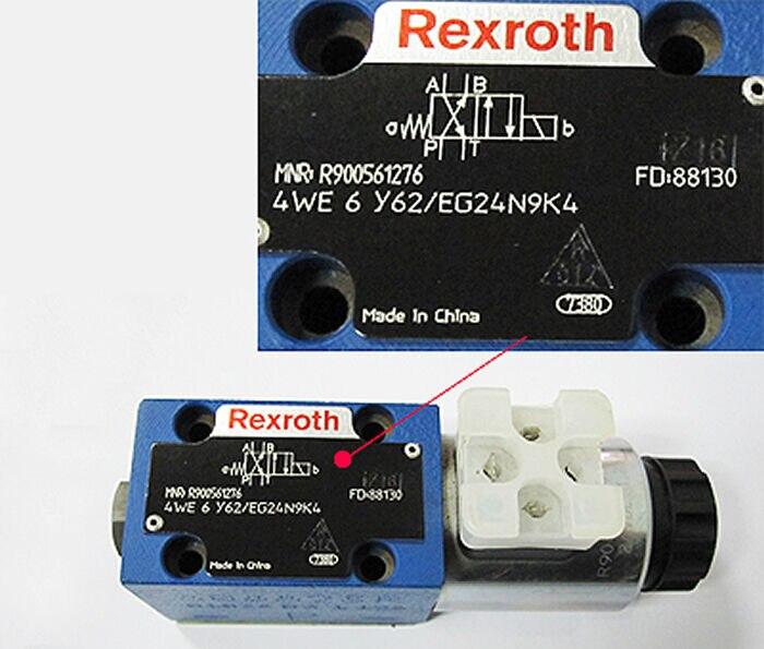 4WE6Y62/EG24N9K4 REXROTH R900561276 4WE6Y6X/EG24N9K44WE6Y62/EG24N9K4 REXROTH R900561276 4WE6Y6X/EG24N9K4