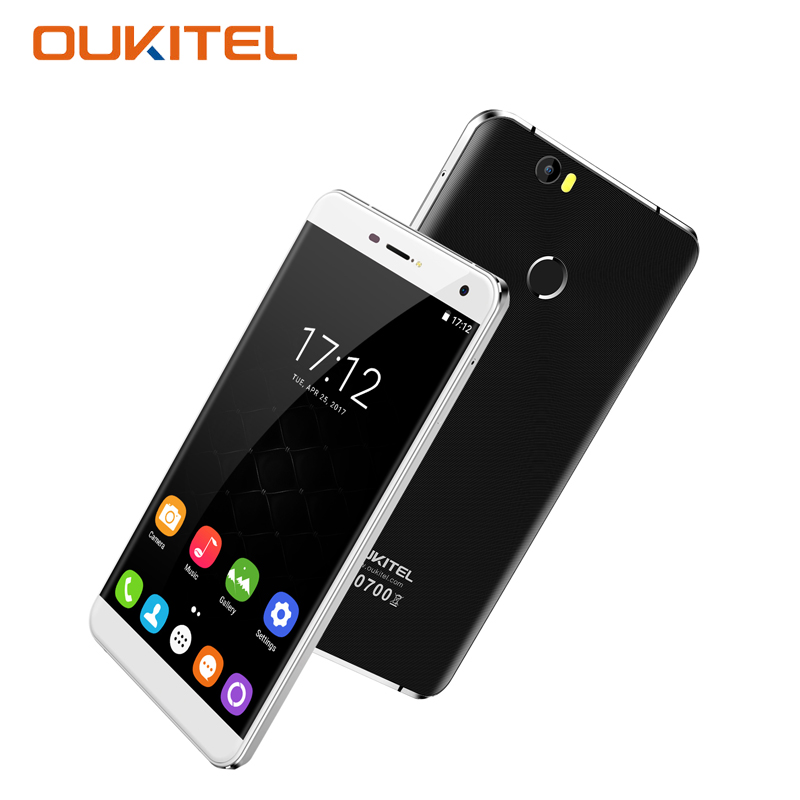Oukitel mt6750 u11 plus 5.7 pulgadas smartphone android 7.0 mtk octa Core 4 + 64