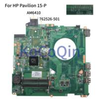 KoCoQin Laptop motherboard For HP Pavilion 15-P Core A8-6410 Mainboard DAY22AMB6E0 762526-001 762526-501 AM6410