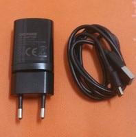 "Original Travel Ladegerät Eu stecker adapter + Usb kabel für DOOGEE T5 MTK6735 Octa core 5 0 ""HD 1280x720 kostenloser versand|Handy-Ladegeräte|Handys & Telekommunikation -"