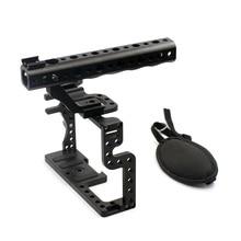 F11100 Профессиональный GH3 GH4 Защитный Корпус Ручка Прочный Кейдж Комбинированный Комплект DSLR Rig Цифровой Камеры