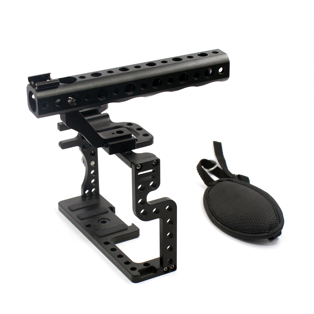 F11100 Professional GH3 GH4 Protective Housing Case Handle Grip Rugged Cage Combo Set Tray Mount DSLR Rig Digital Camera