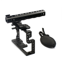 F11100 Professional GH3 GH4 Protective Housing Case Handle Grip Rugged Cage Combo Kit Tray Mount DSLR Rig Digital Camera