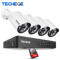 4CH 960H Network DVR 4pcs 800TVL 36PCS LEDs IR Outdoor Weatherproof CCTV Camera Home Security System