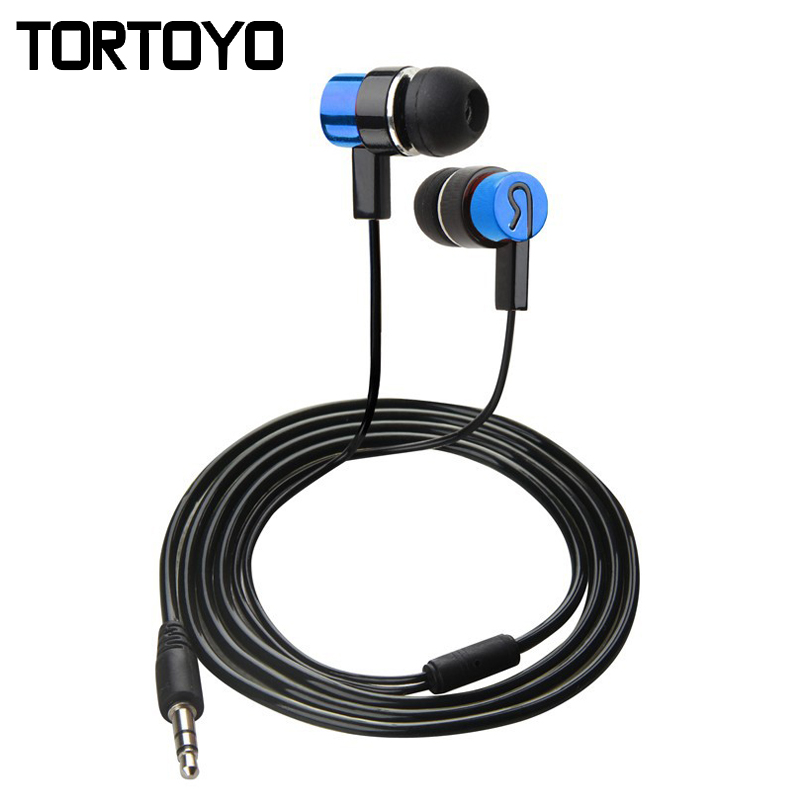 Cheap Promotion In Ear Sports Earphone for iPhone Stereo Earbuds With Microphone Metal Earphones for Huawei Xiaomi PC Smartphone