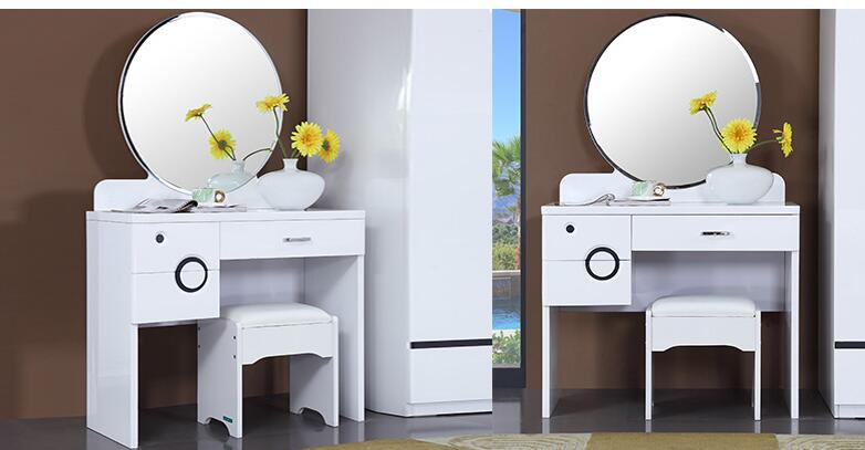 Спальня мебель макияж стул. Комод