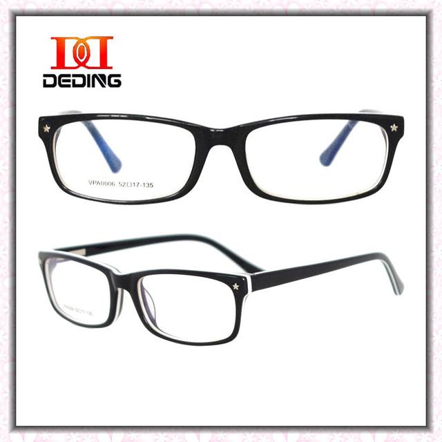 2014 nova Moda Feminina prato cheio moldado óculos de armação cor azul branco preto Moda Feminina óculos Moldura da Placa DD0623