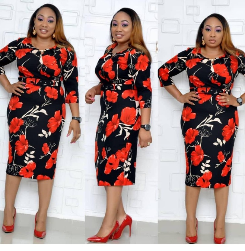 2019 New Arrival Summer Sexy Fashion Style African Women Printing Polyester Plus Size Dress L-XXL