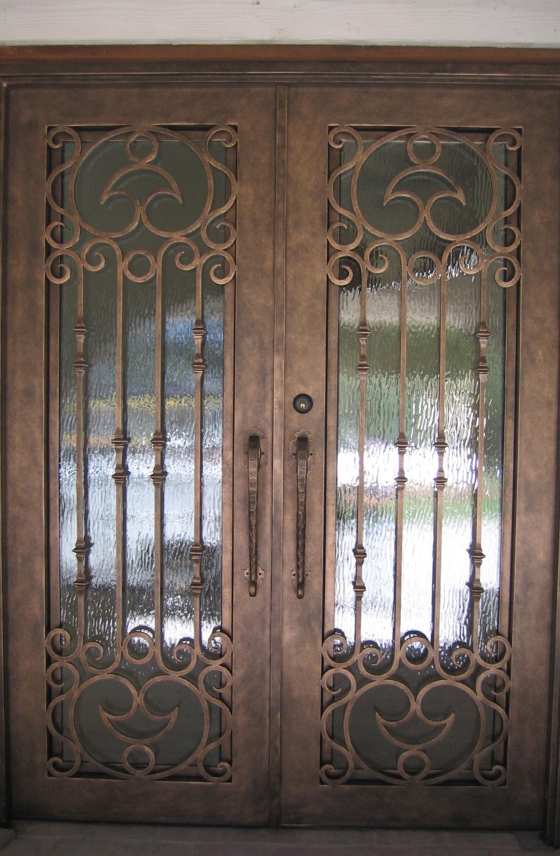 Timber Wrought Iron Doors Wrought Iron Door Window Inserts