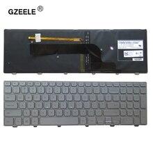 Neue Englisch für Dell Inspiron 15 7537 7000 P36F laptop Tastatur mit hintergrundbeleuchtung silber 15 7000 Serie UNS Tastatur