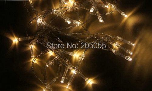 5m 50led aa battery operated clear string fairy light night lamp static onflash mode xmas christmas