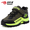 Beedpan Brands 2016 New Fashion Large boy shoes children Mountaineering shoes baby winter shoes plus velvet warm sneakers Warm