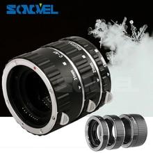 Mới Lấy Nét Tự Động AF Ống Macro Vòng Bộ Chuyển Đổi Ống Kính Cho Canon EOS 800D 760D 750D 200D 80D 77D 5D mark IV Máy Ảnh DSLR