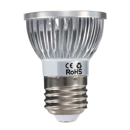 Half Dozen 6pcs E27 4W LED White Spot Down Light Lamp Bulb ship Type:4W-4LED Light Color:Cool White