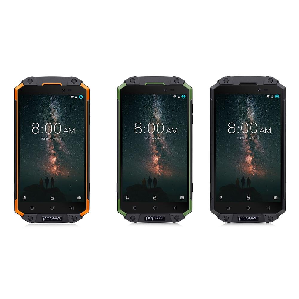 Poptel P9000 MAX 4G Phablet IP68 MTK6750V Octa Core 4 GB RAM 64 GB ROM 9000 mAh NFC OTG smartphone