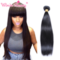 Top Quality 7A Grade Brazilian Virgin Hair Silk Straight 1pc 4''-30'' Unprocessed Virgin Hair Bundle Deals No Tangle No Shedding