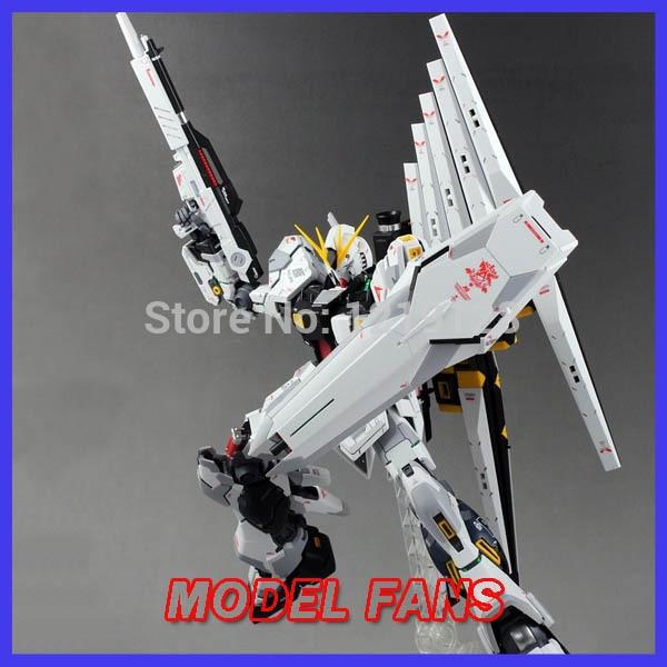 Здесь можно купить  MODEL FANS GUNDAM Model 1/100 MG KA versions NU GUNDAM action figure  Игрушки и Хобби