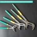 Doppel Farbe Kunststoff Griff Clamp Sanitär Rohr Schlüssel Manuelle Schlüssel Wasserpumpe Zange Hand Werkzeuge