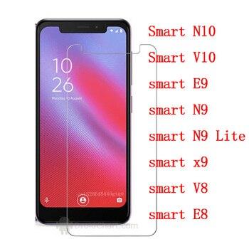 Перейти на Алиэкспресс и купить Для Vodafone smart V8 N10 V10 E9 N9 Lite x9 E8 закаленное стекло стальная пленка передний защитный экран защитный чехол для телефона пленка