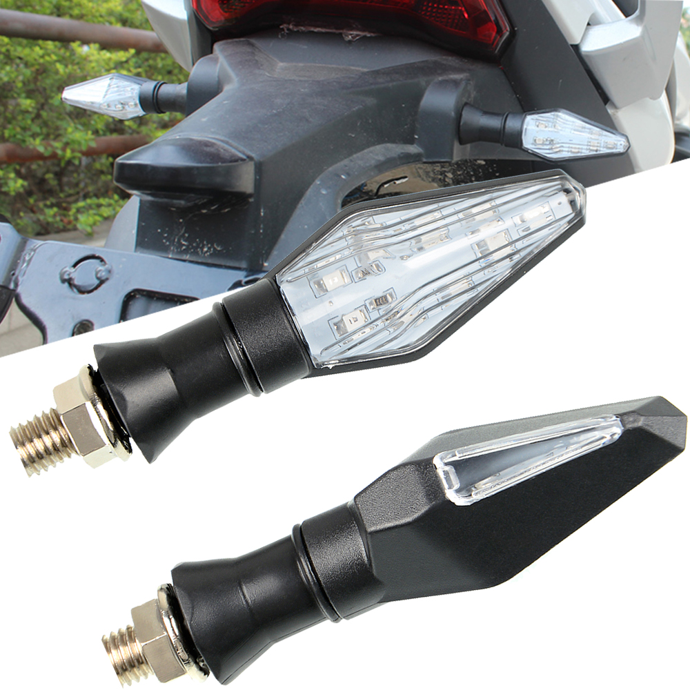 Universal Motorcycle Turn Signal Promotional price Indicators Lights accesorios For <font><b>SUZUKI</b></font> <font><b>GSX1400</b></font> GS500 GSF 250 Bandit image