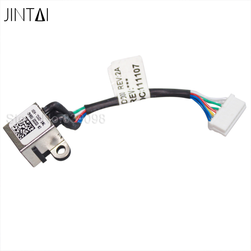aliexpress com   buy jintai laptop dc power jack harness plug cable for dell inspiron 17r 5720